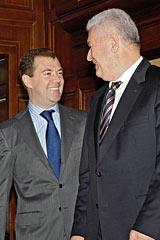 Как Медведев мирил Молдавию и Приднестровье. Конфликтующие стороны подписали совместное заявление, но не то, которого все ждали